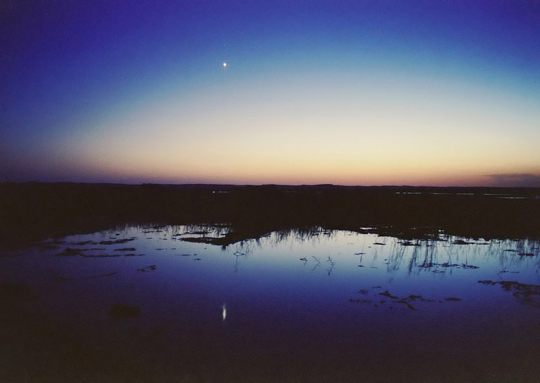 Venus over Siwa - by: Aymen Ibrahem (3 second exposure, Canon 28mm F2.8, Kodak Ultra 400)