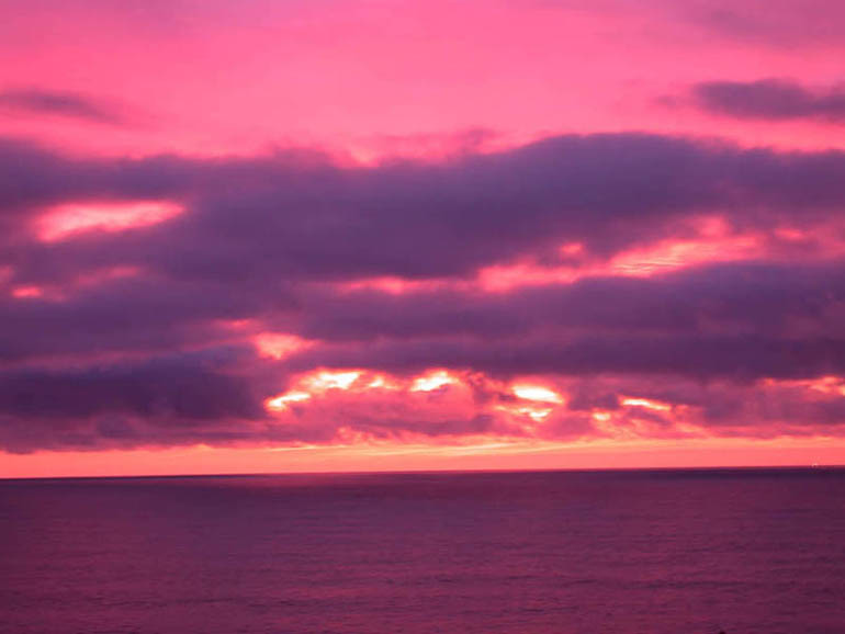 And when its cloudy, Pacifica enjoys some of California's best sunsets