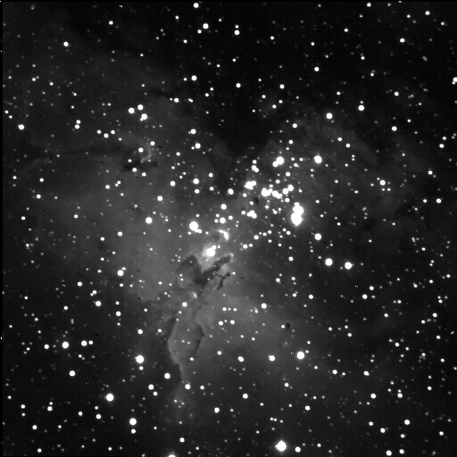 Eagle Nebula by Jim Peterson - Image from New Mexico Sky's 14 inch SCT f11 with Apogee CCD