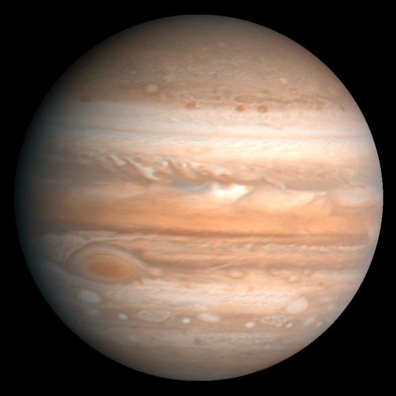Jupiter as seen from Voyager.