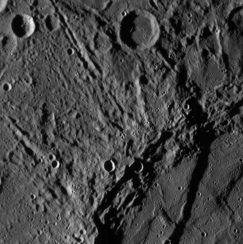 A Previous Unseen Side of Mercury - CloseUp